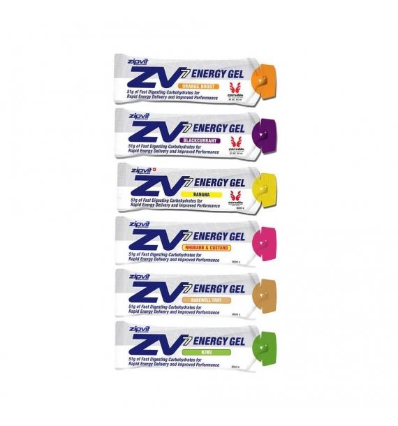 Gel energético ZipVit Sport - ZV7 (24 x 60 ml)